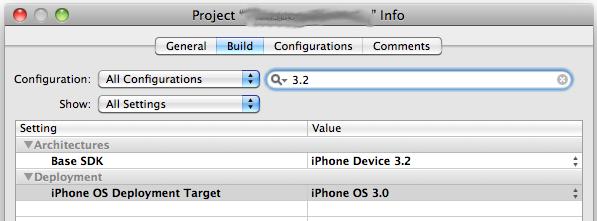 iPhoneOS 3.0 development device with iOS 4.0 SDK